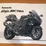 カワサキバイク愛車オリジナルプレゼント