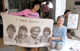 家族の写真でオリジナルプレゼント