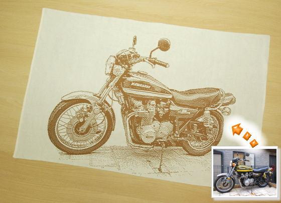 バイクの写真でプレゼント