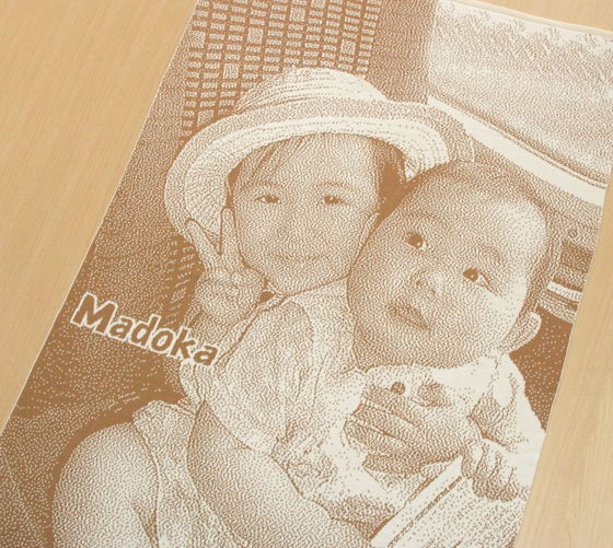 子供の写真で作るオリジナルプレゼント