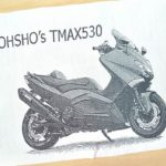 TMAX愛車オリジナルグッズ