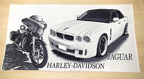 ジャガーとハーレー愛車オリジナル