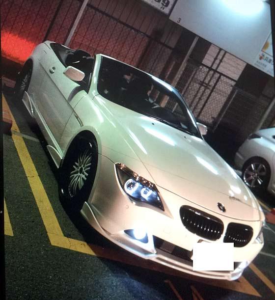 BMW E64 cabriolet